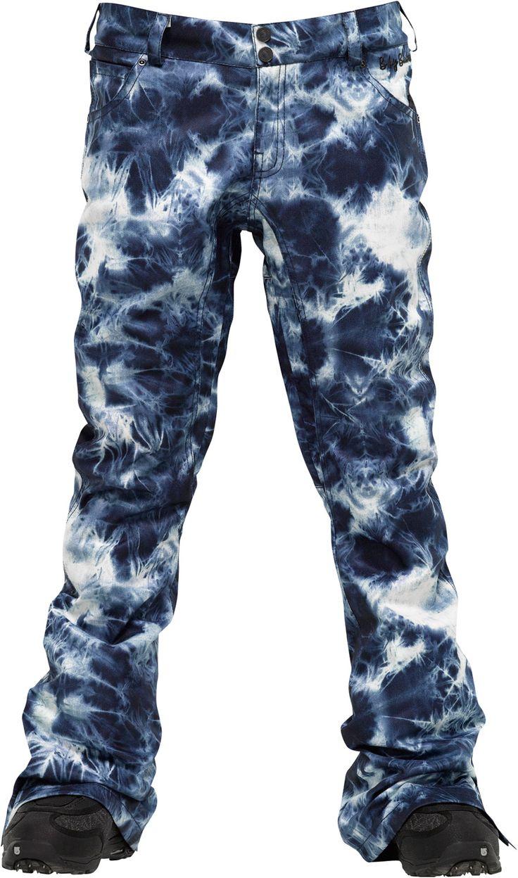 Burton B By Burton Lizzy Snowboard Pants Acid Wash Print