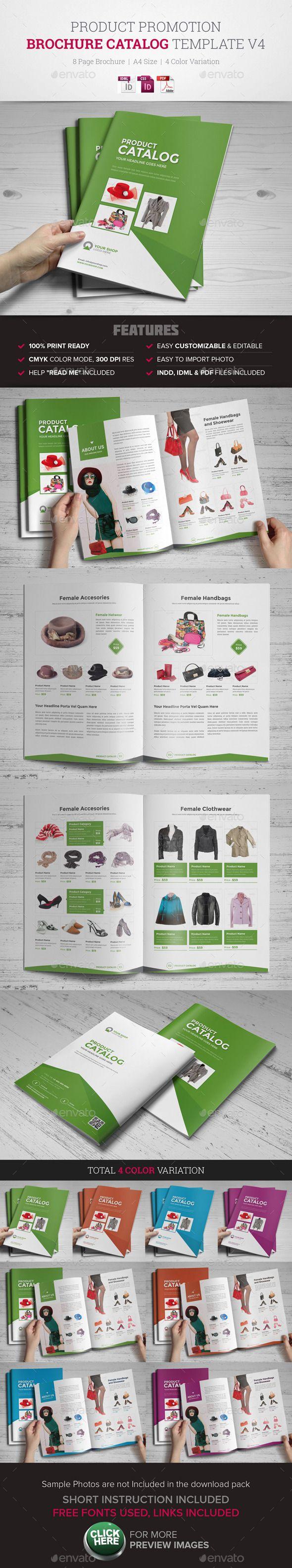 Product Promotion Catalog InDesign Template #catalog #catalogtemplate Download: http://graphicriver.net/item/product-promotion-catalog-indesign-template-v4/11473441?ref=ksioks