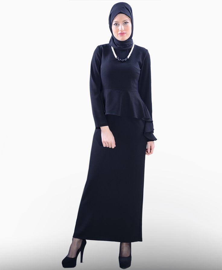 Beli Volanlı Elbise - SG693S