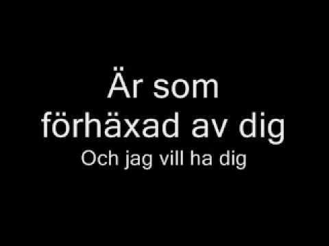 Håll om Mig Nu [Nanne Grönvall] *With Lyrics* - YouTube