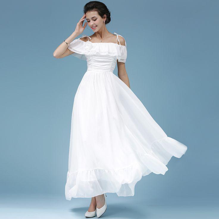 White Strapless Sexy Long Dress Zomer Jurken 2017 Summer Maxi Dress Vestido De Festa Longo Women Beach Dress Robe Longue 82055
