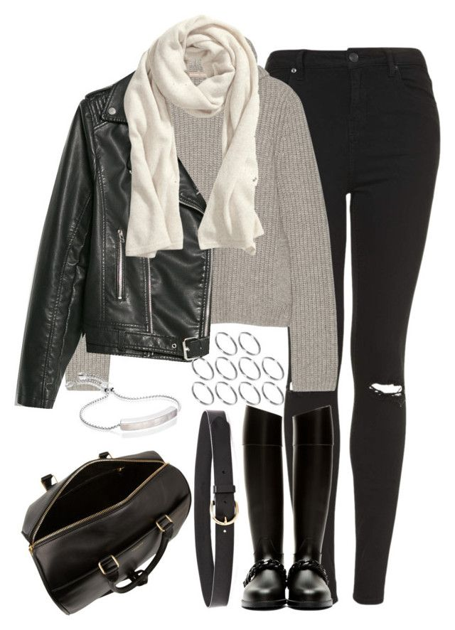 Untitled #941 by cottxncandy on Polyvore featuring polyvore fashion style Michael Kors MANGO Topshop Givenchy Yves Saint Laurent Monica Vinader ASOS H&M Madewell clothing