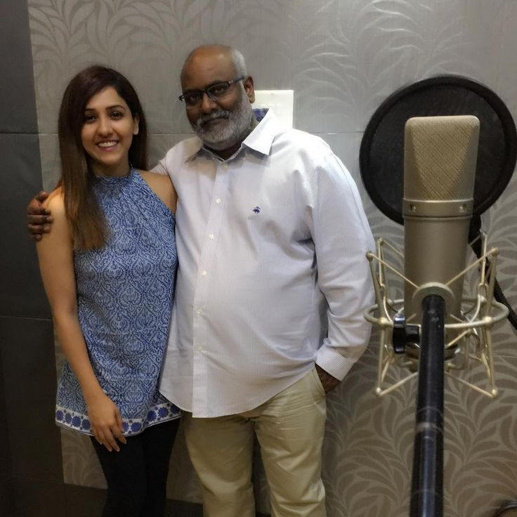 Dearest MM kreem sir, your goodness as a person and as a musician is beyond inspiring. Ecstatic to record with you today