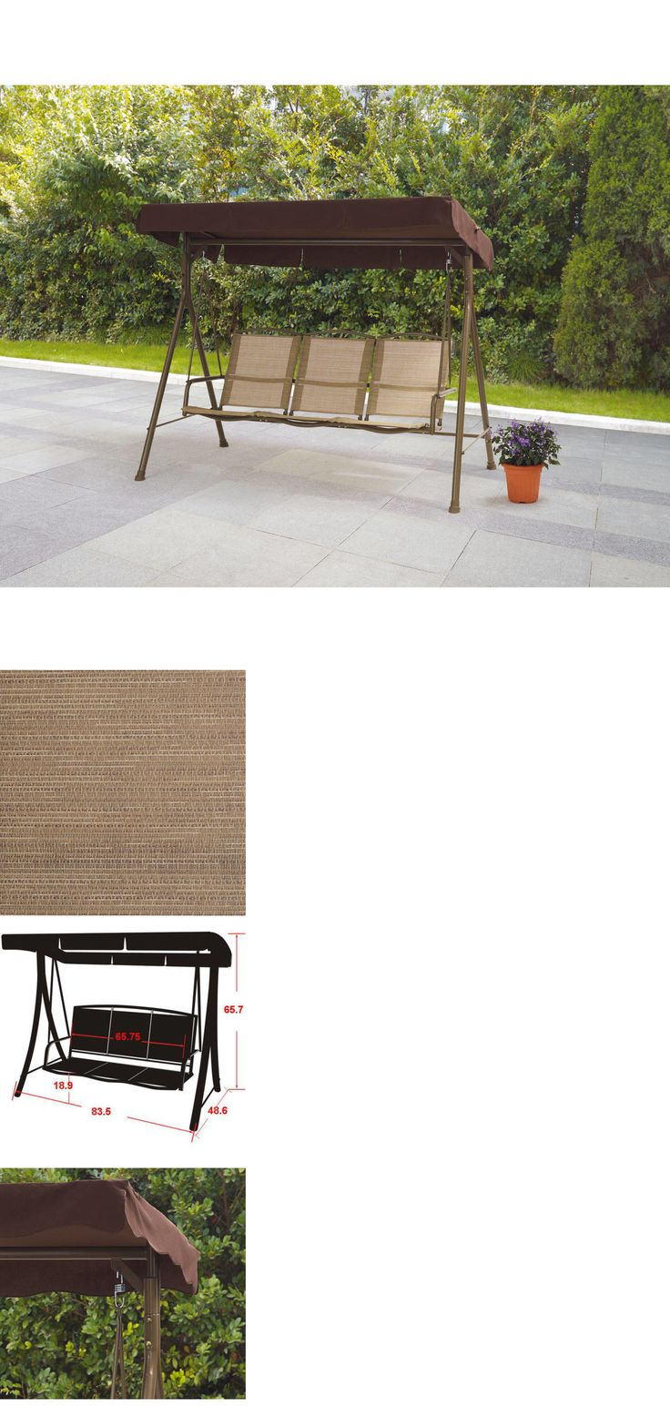 Patio Swing Replacement Seat: Best 20+ Outdoor Swing With Canopy Ideas On Pinterest