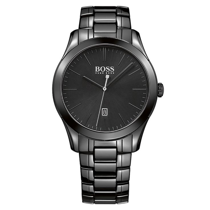 Black Hugo Boss Ceramic Watches