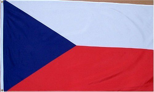 """Czech Republic National Country Flag - 3 foot by 5 foot Polyester (New) by Country Flags """"C-D"""". $4.95. FAST SHIPPER: Ships in 1 Business Day; usually the Same Day if pmnt clears by noon CST. 3 Foot by 5 Foot, Indoor-Outdoor, Lightweight Polyester Flag with Sharp Vivd Colors. 2 Metal Grommets For Eash Mounting with Canvas Hem for long lasting strength. Express International Shipping is Global Express Mail (2-3 days). Express Domestic Shipping is OVERNITE 98% of the time, otherwi..."""