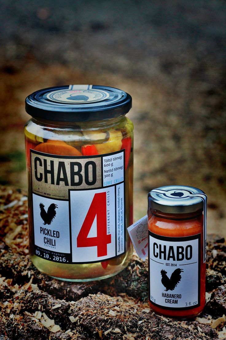 #Chabo#hot sauce #pickle#habanero