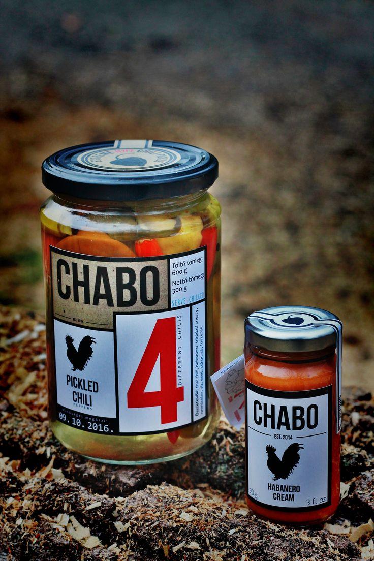 #Chabo#hot sauce #pickle#habanero