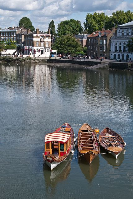Our beloved Richmond riverside. Who needs to go abroad?! (Okay...we do, but it's still beautiful)
