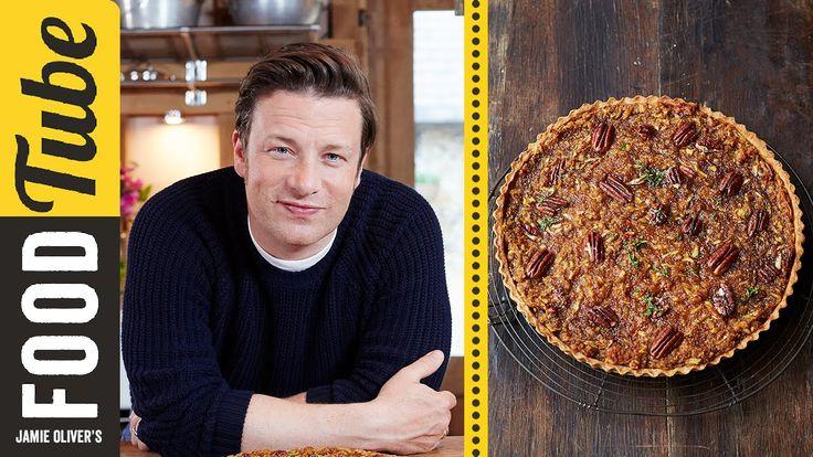 Maple & Pecan Tart | Jamie Oliver