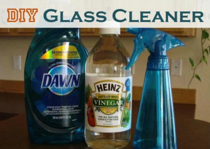 Dyi Glass Cleaner Cleaning Ideas Diy Glass Cleaner