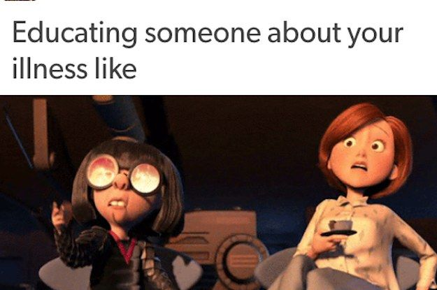 "17 Real AF Tumblr Posts About Invisible Illnesses ""But you don't look sick?"""