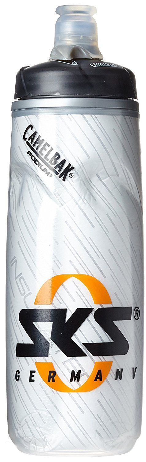 SKS Cooler Camelbak Trinkflasche 610ml Bottle Cage–White–11117 ** You can find more details by visiting the image link.