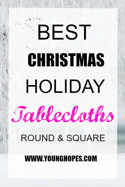 Holiday tablecloths round and square are quite popular during Christmas party celebration. Tablecloths for holiday décor is both a creative and a beautiful idea. After all it is not just a covering rather a part of the decoration and goes…Read more →