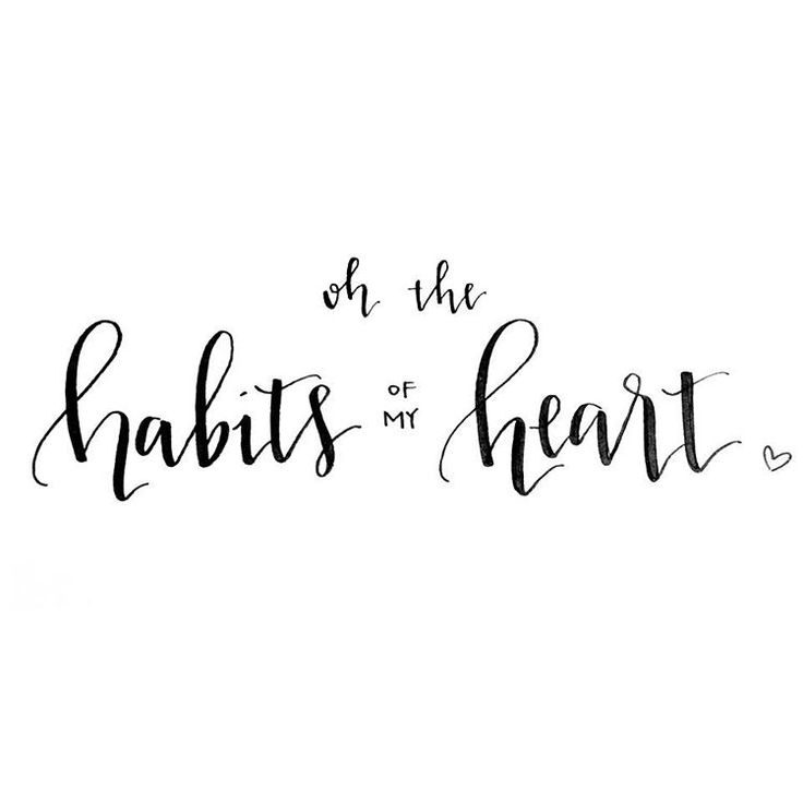 Habits of my heart. Jaymes Young.