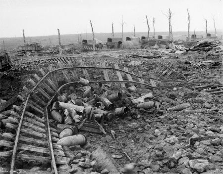Trench Railway Destroyed