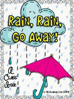 **FREEBIE** Rain, Rain, Go Away! - A Class Book
