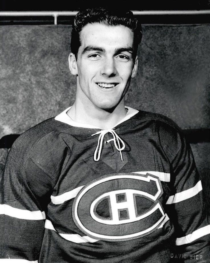 Young Henri Richard Montreal Canadiens Photo