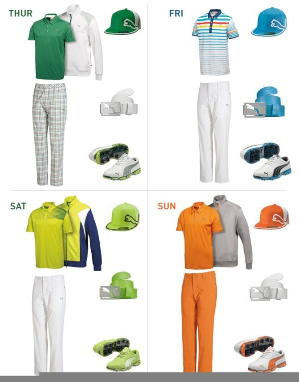 3e687846bf7 Puma Golf showed us what fashion plate Rickie Fowler will be wearing during  the four tournament