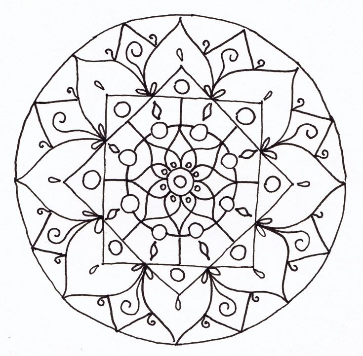 mandala art - Google Search