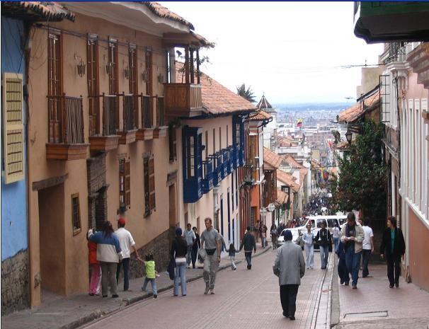 Bogota Colombia Photos: La Candelaria, Bogota