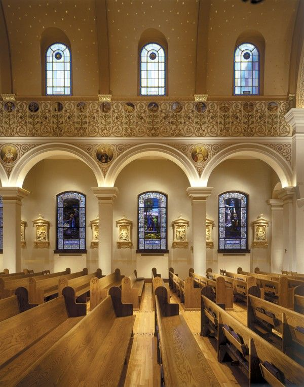 Cathedral of the Immaculate Conception, Memphis, Tennessee - Portfolio Of Restoration & Original Design | Conrad Schmitt Studios Inc.
