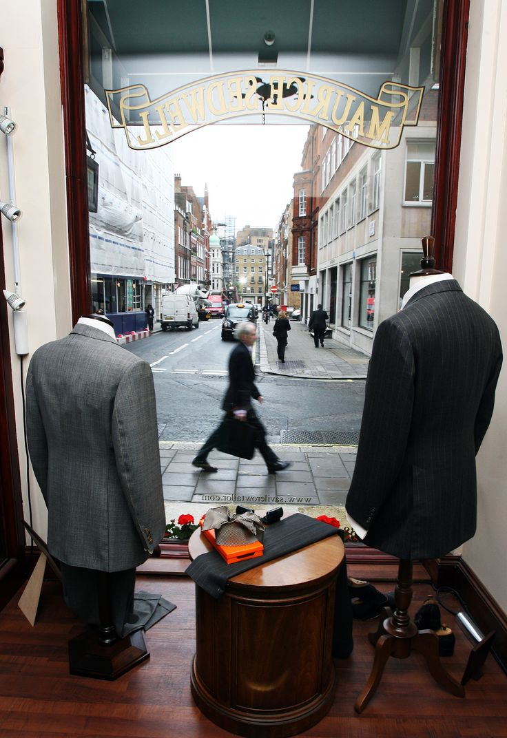 Maurice Sedwell, Maurice Sedwell. Learn from Savile Row legend Andrew Ramroop in our Savile Row tailoring course: https://www.mastered.com/courses/8 £1000