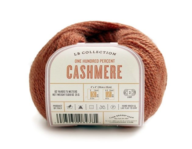 LB Collection  Cashmere  Yarn from Lion Brand Yarn
