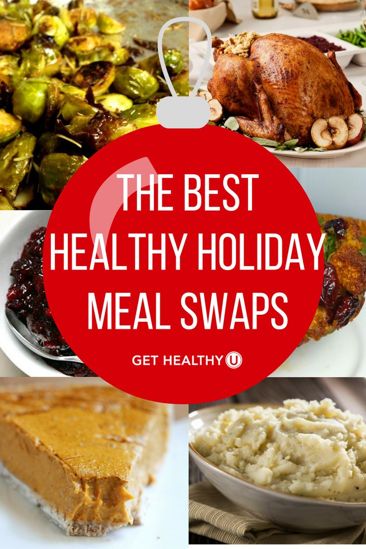 Check out our article on The Best Healthy Holiday Meal Swaps! The holidays are a notoriously difficult time to stay healthy--with these meal swaps, you'll be able to conquer comfort food while still having a delicious, satisfying array of holiday meals!
