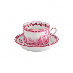 R.Ginori_Paesaggio Magenta - Šálek a podšálek na čaj 0.22 l
