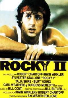 rocky II, movie poster, stallone