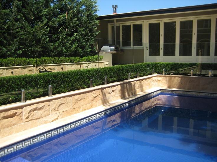classic poolside
