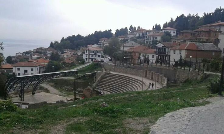 Antique theatre in Ohrid
