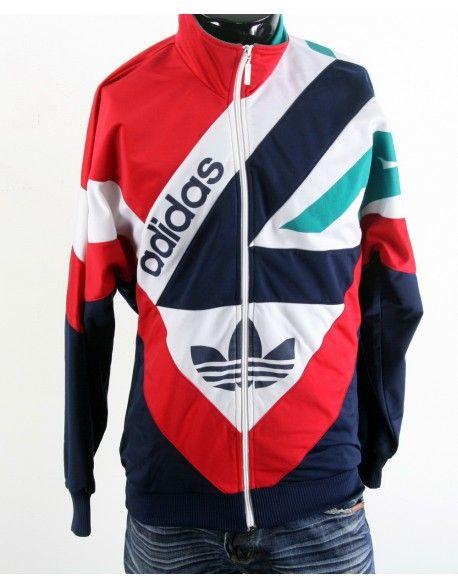 Adidas Men's D5 F174 M Sweatshirt Full Zipper Tracksuit Top Sport