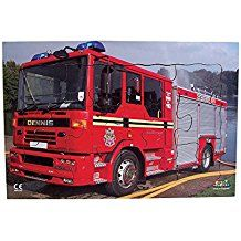 A 12 piece tray puzzle showing a fire engine. #discover #disused #wooden #jigsaws #puzzles #red #water #education #motherhood #children #style #art #handmade #handmadeatamazon #amazon #amazonprime #onlineshopping #online #mother #father #kids #play #fun #Educational #Business #familybusiness #Family #wooden #British #Handmade #Children #gifts #toys #Christmas #jigsaw #puzzles #views #amazing #amazon #amazonprime #freediving #freeshipping #british #england #derby #madeinengland #madeinbritain
