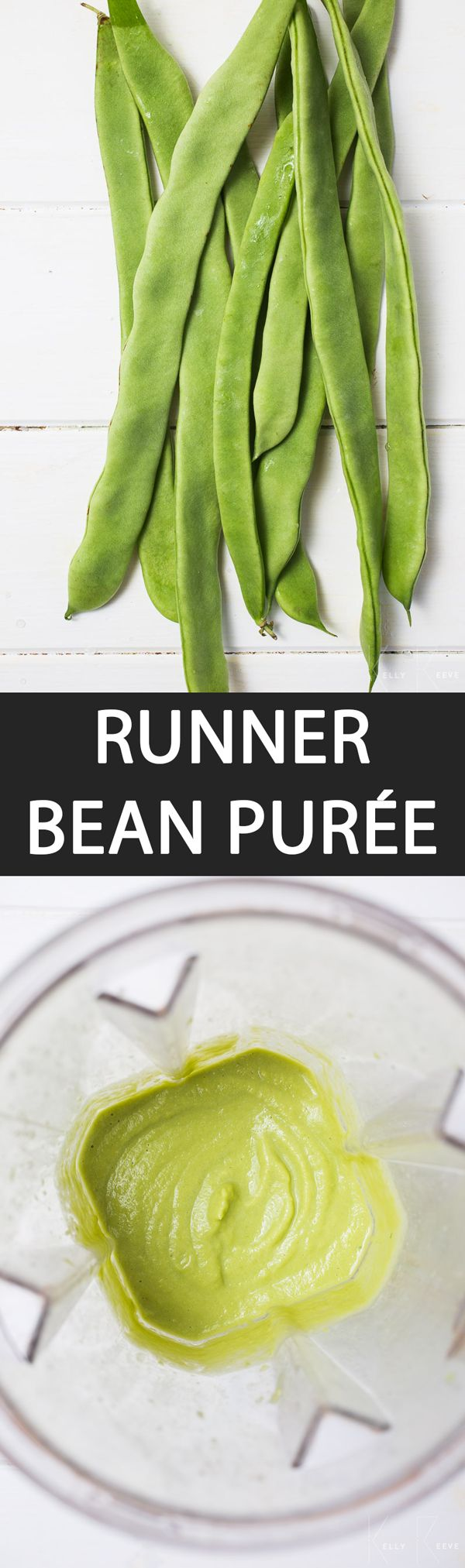 Runner Bean Puree - {NEW RECIPE} Runner #bean #purée is a low-carb alternative to the traditional potato #mash. Very versatile, it can be paired with roasted vegetables, various types of meats and fish. It can easily be jazzed up with your favourite herbs and spices. Make it #vegan with vegetable oil.