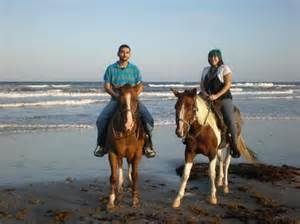 I think you can still find some areas that have the horses to ride on the beach... This is in the Corpus Christi, Texas area