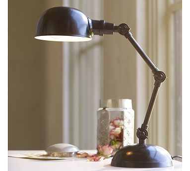 Love this PB lamp...wonder if I could find a knockoff for cheaper?
