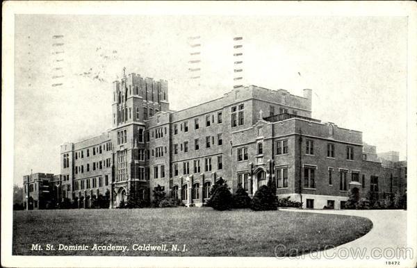 Mt. St. Dominic Academy Caldwell, NJ