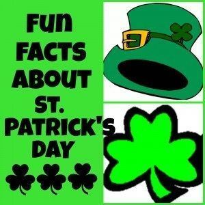 Fun Facts about St. Patrick's Day & Free Trivia printable