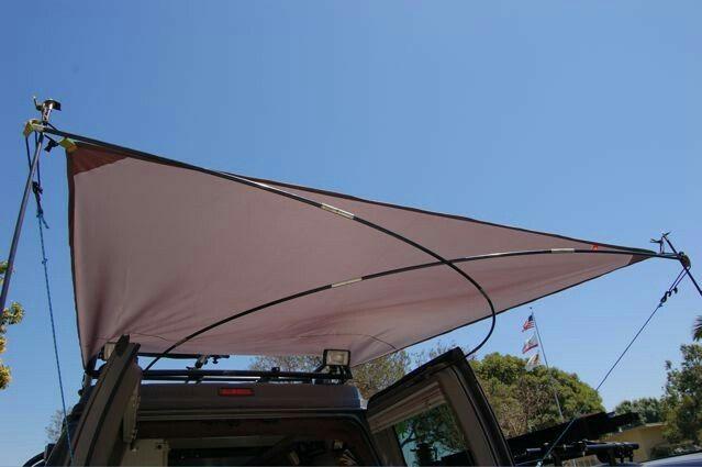 Rear DIY Awning | Diy awning, Awning, Sportsmobile