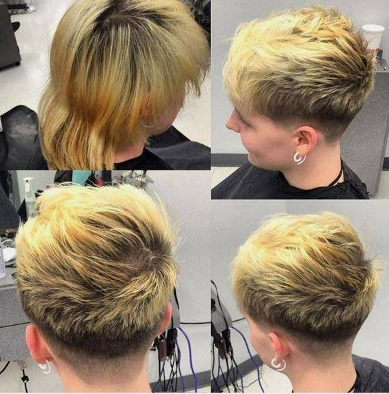 52 best images about ultra short hair on Pinterest