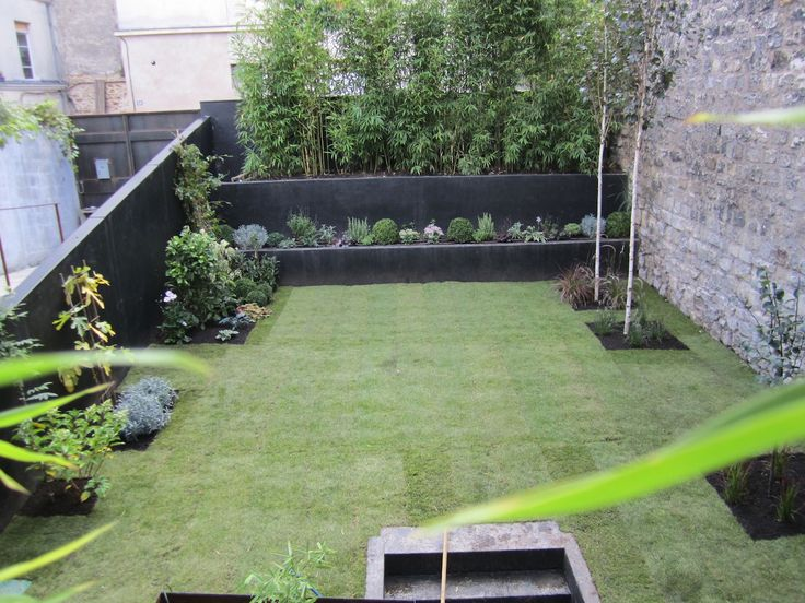 1000 id es sur le th me jardins contemporains sur for Jardin contemporain epure