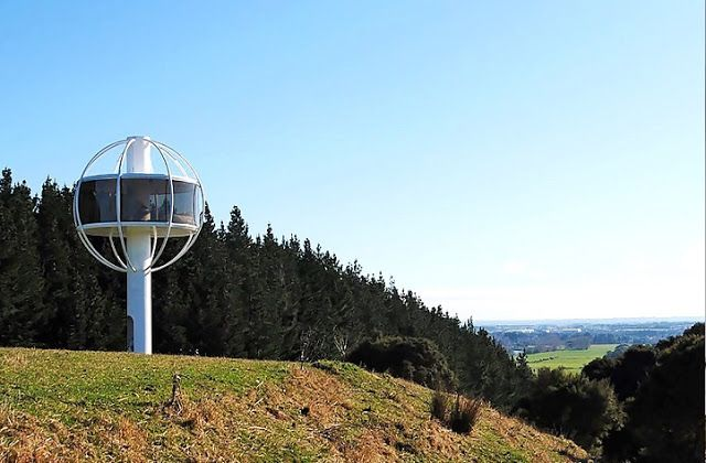 Tecnoneo: The Skysphere es una vivienda de alta tecnologia con vistas de 360 grados
