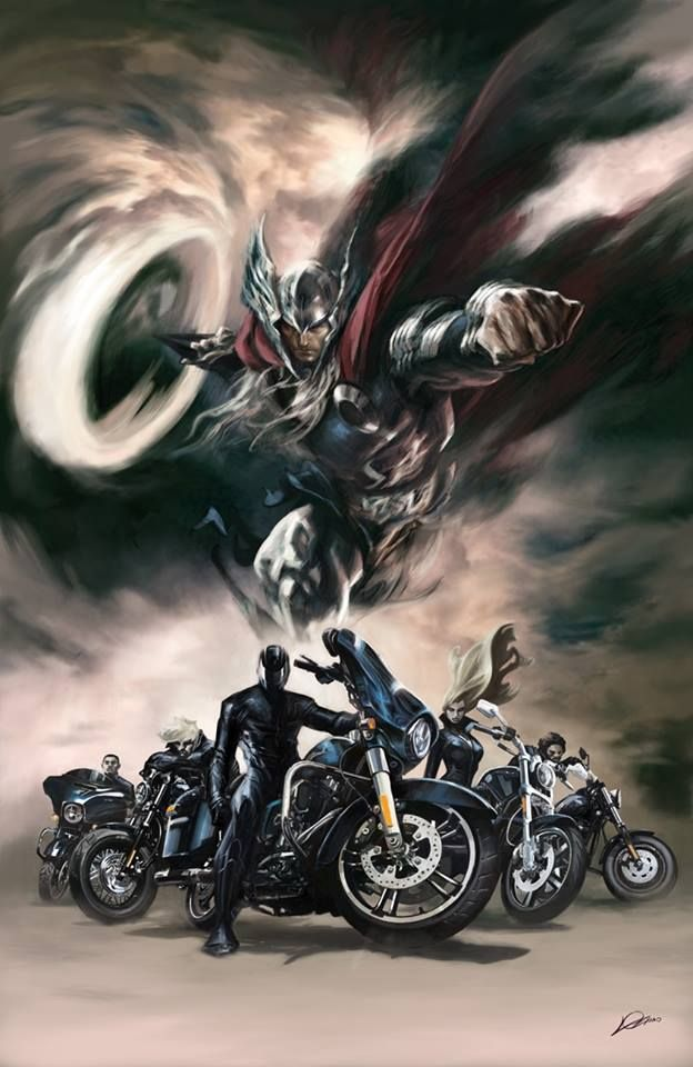 Road Force #2 - Thor by Alexander Lozano *