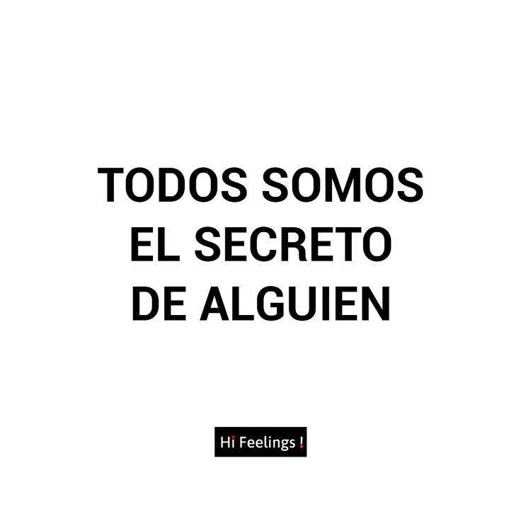 Frases de amor para el. Todos somos el secreto de alguien #instagram #frases #Frasesdeamorparael