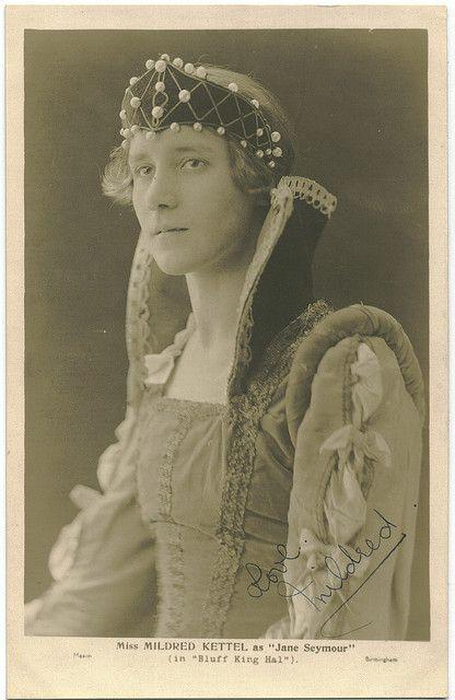 KETTEL, Mildred. As Jane Seymour in Bluff King Hal_Mason (Birmingham).