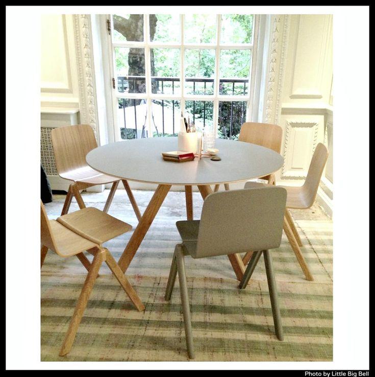 Copenhague sarjan pyöreä ruokapöytä ja cph tuolit. Wrong-for-Hay-St-Stephen's-clubb http://decdesignecasa.blogspot.it