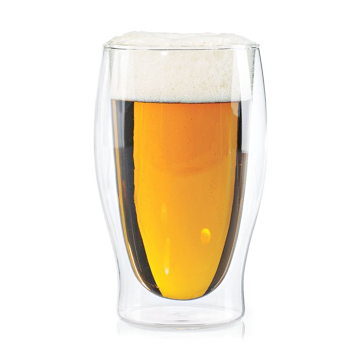 "Floating Beer Glass - Set of 4 $39.99 DETAILS & DIMENSIONS Dimensions 6"" H Capacity 16 oz Material Lead-free glass Care Instructions Dishwasher safe Includes Set of 4 