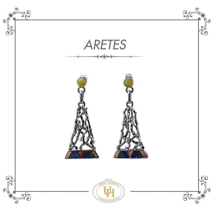 """Pasión por los aretes! #earrings #aretes #silverjewerly #jewerly #jewerelly #fashion #fashionjewelry #handmade #girls #madeinperu #peruana #cute #like…"""